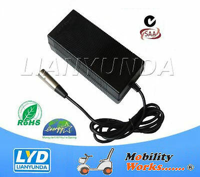 4 Amp 3-Stage Mobility Scooter AGM Battery Charger