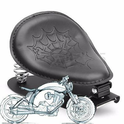 Universel Moto Solo Selle Siège Support Couverture Pour Harley Chopper Bobber