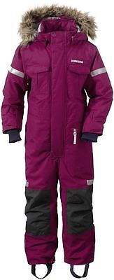 Didriksons Migisi Kids All-in-One Ski Suit, Dark Lilac