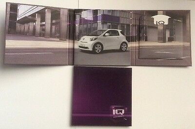 2008 TOYOTA iQ MEDIA PRESS PACK COLLECTABLE ITEM