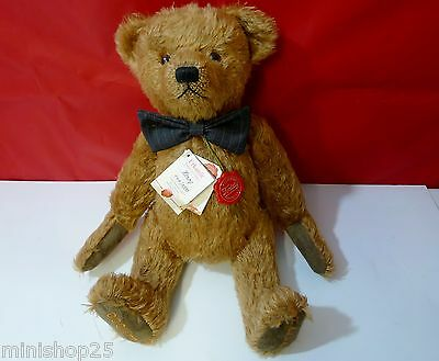 """Ours Hermann Teddy Bear """" Henry"""" - Made in Germany 96112 édition limitée"""
