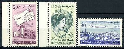 16-07-00577 - Morocco 1961 Mi.  473-475 MNH 100% Tanger Conference
