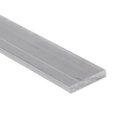 "1/4"" x 1-1/2"" Aluminum Flat Bar, 6061 Plate, 1"" Length, T6511 Mill Stock, 0.25"""