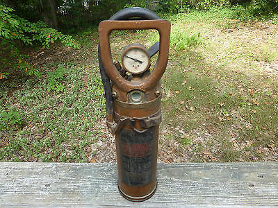 Antique Vintage Phister No. 1/4 Fire Extinguisher Empty **Very Rare Size**