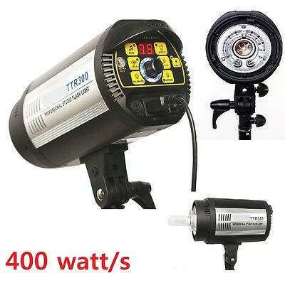 Pro photo studio 400 Watt/second Flash Digital Strobe Master Monolight Head