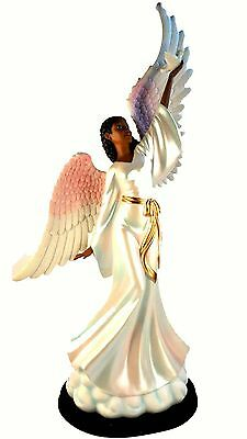 Peace Unto You Figurine: African American Angel NEW (63008) 17.5 Inches Tall