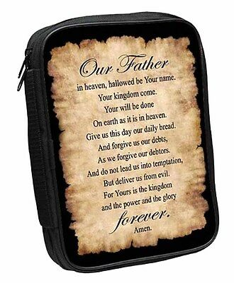 Lord's Prayer Bible Cover (81405) NEW 7x10 Inches
