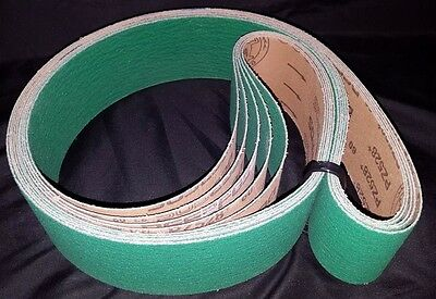 "Sanding Belts 3"" X 79"" Hd Zirconia+ 60 Grit Usa Qty: 5"