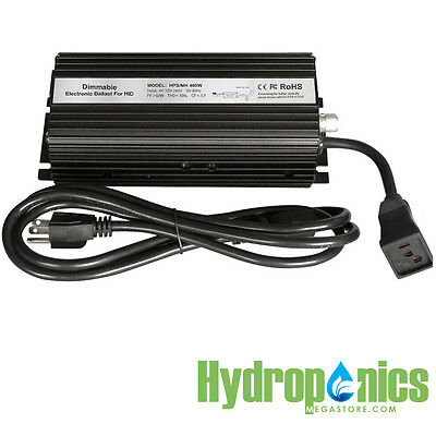 BlackLine Digital Electronic 400 watts Dimmable Grow Light Ballast HPS MH