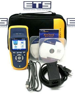 Fluke Networks AirCheck Wireless Network Wifi Tester Firmware V1.2