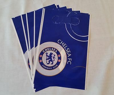 Chelsea Football Club Party Loot Bags X 8 Birthday Party Favours Bags
