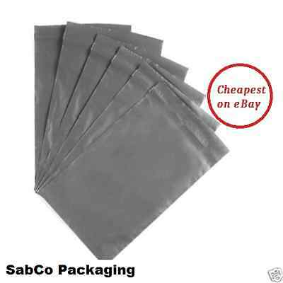 """13 x 19"""" Grey Strong Mailing Parcel Postage Plastic Post Poly Bags Self Seal"""