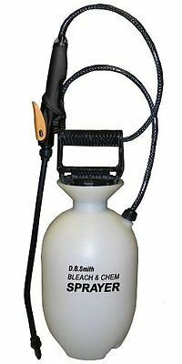 Smith 190285 1-Gallon Bleach and Chemical Sprayer for Lawns and Gardens or and