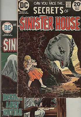 Secrets of the Sinister House #13 and #17 – Reading copies