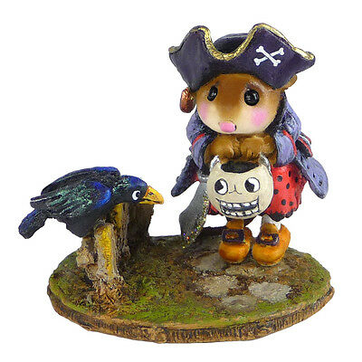CURIOUS CROW by Wee Forest Folk, WFF# M-532 - New Pirate Mouse 2015