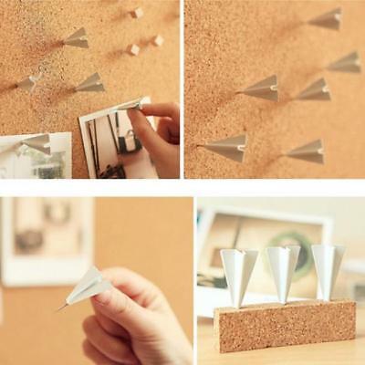 Creative 6Pcs Home Office Drawing Pin Plane Pushpin Thumbtack Board Push Pin G