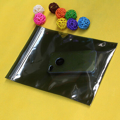 New Anti Static Packing Bags Self Seal Waterproof Recloseable Pouches Zip Lock