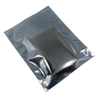 "15x20cm Anti-Static Shielding Open Bag Plastic Package Pouch For 3.5"" Hard Drive"