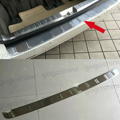 Stainless Steel Outer Trunk Sill Plate Guard Cover Protector for Toyota Sienna