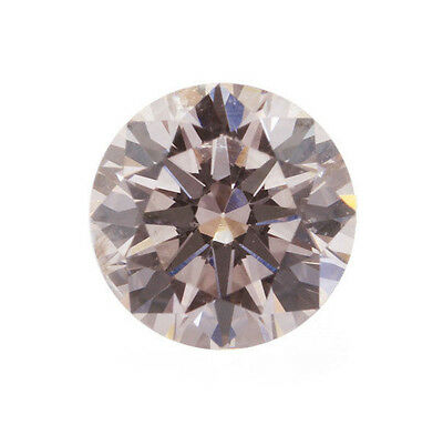 0.31 Carat Fancy Light brownish Pink Loose Diamond Natural Color Certified Round