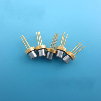 5pcs New 650nm 5mW Red Laser Diode TO18 5.6mm + Driver Board