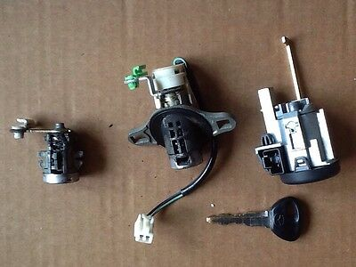 Mazda 323F Ignition Barrel with Tailgate and Drivers Door Lock + Key