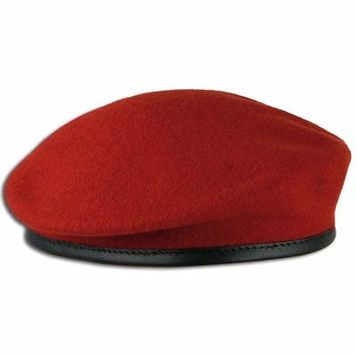 Béret Commando rouge