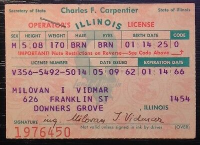illinois drivers license restriction codes bf