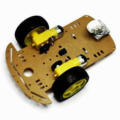 Smart Robot 2WD Car Chassis Kit/Speed encoder Battery Box Arduino 2 motor 1:48