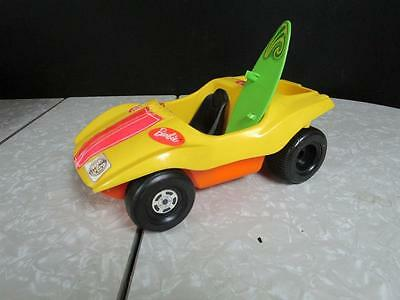 Vintage 1972 Barbie Yellow Beach Dune Buggy by Mattel
