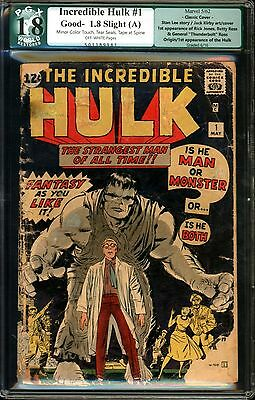 Incredible Hulk #1 PGX 1.8 ((RESTORED))???
