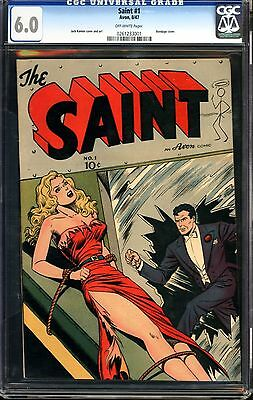 Saint #1 CGC 6.0 ((very slight crack))