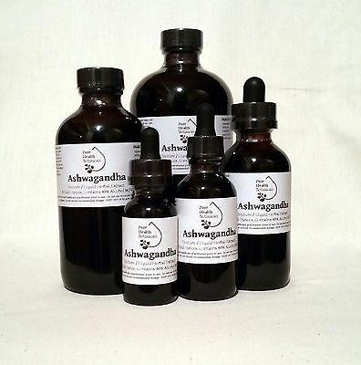 Ashwagandha Root Tincture, Extract, Withania Somnifera, Winter Cherry