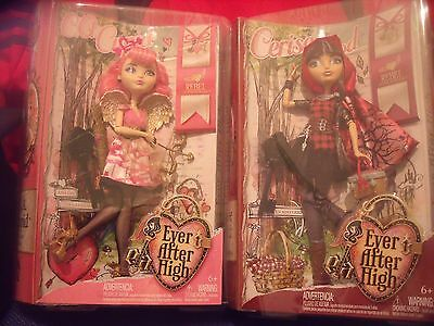 BNIB Ever After High Royal or Rebel - Choose C A Cupid or Cerise Hood