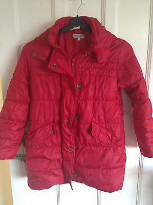 girls marks and  spencers coat good condition size  9-10 years