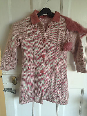 girls jacket good condition size 5-6 years