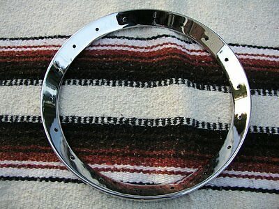 """Banjo tonering Tone Ring. Chrome plated,  2.15 lbs. For 11"""" bluegrass rim"""