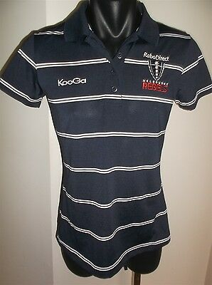 Melbourne Rebels Rabo Direct Rugby Union Polo Shirt Women's Size 10