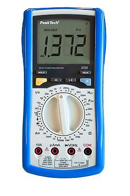 PeakTech 3725 LCR Gauge Multimeter Inductance Capacity Micro Henry Farad