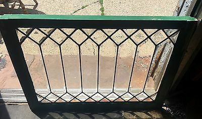 Special Geometric All Heavy Beveled Turn Of Century Window Rainbow Maker