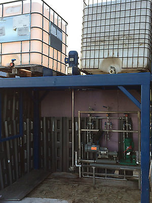 Tote Stand - Stand for Downloading 2 Sonoco or IBC Bins - Engineered