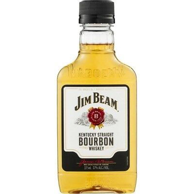 Jim Beam White 375Ml Bourbon Whisky Bottle