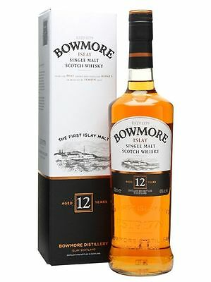 Bowmore 12 Year Old Malt Whiskey 700 Ml