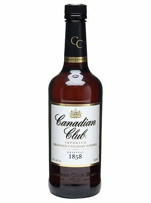 Canadian Club Whisky Bourbon 700 Ml American