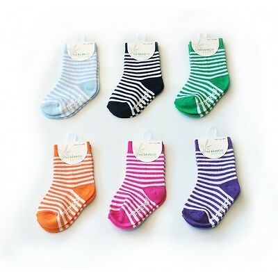 $ CLEARENCE SALE ! Bamboo&Cotton Blend Baby/kids/children's Socks- Striped Socks
