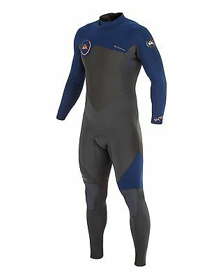 NEW QUIKSILVER™  Mens Syncro 3/2MM Back Zip Steamer Wetsuit Surf