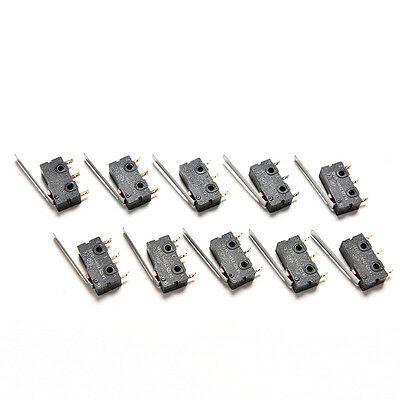 New 10PCS Tact Switch KW11-3Z 5A 250V Microswitch 3PIN Buckle  new