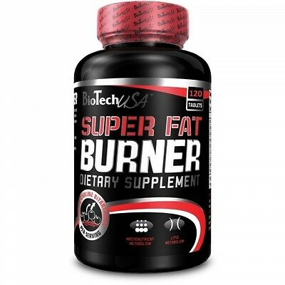 BioTech USA - Super Fat Burner, 120 Tabletten - Diät, Fatburner, Abnehmen -