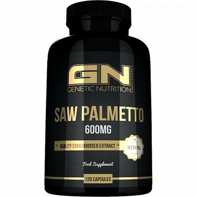 GN Laboratories - Saw Palmetto 600mg, 120 Kapseln - DHT, Östrogen u. Progesteron