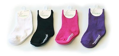 $ CLEARENCE SALE ! Bamboo & Cotton Blend Baby/Kids/Children's Socks- Plain